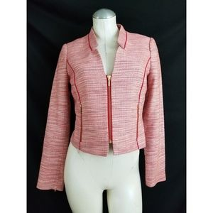 The Limited Size S Red Off White Silver Blazer